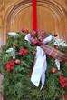 Hanging Christmas Door Wreath