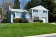 Brick Split Level Single Family House Home Suburban Maryland USA