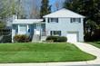 Split Level Single Family House, Suburban Maryland, USA