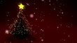 Feliz Navidad / Merry Christmas with animated christmas tree