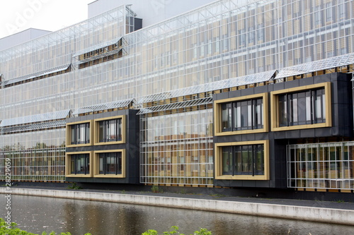 Back of the Martini Hospital in Groningen in the Netherlands