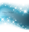 Light blue abstract Christmas background