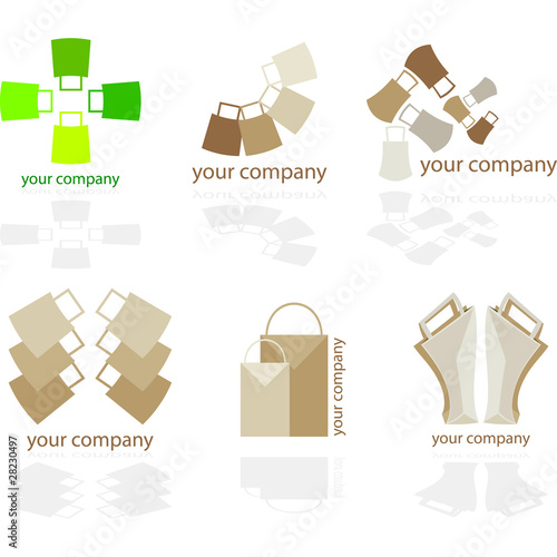 Logo - Shopping bags