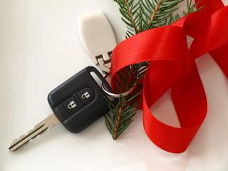kluczyki samochodowe na gwiazdkę