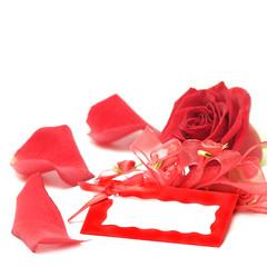 Valentine's day gift card background