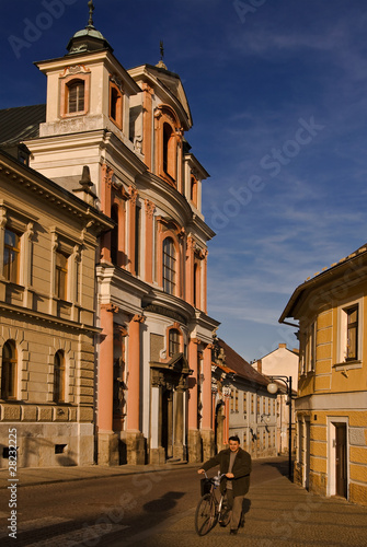 Historical streets of Kutna Hora