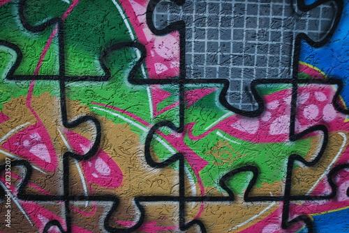 graffiti von thomas otto lizenzfreies foto 28235207 auf. Black Bedroom Furniture Sets. Home Design Ideas