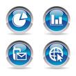 Statistics icons