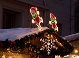 Décoration de marché de Noël