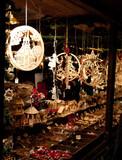 Artisanat de bois au marché de Noël de Bâle