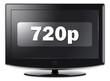 "Flatscreen TV ""720p"""