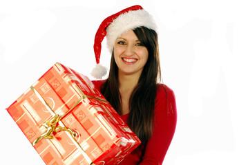 Babbo Natale porta i regali