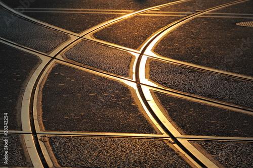Strassenbahnschienen - 28242254