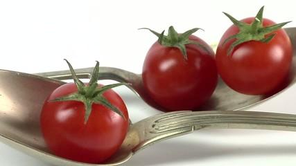 video cucchiaio e pomodorini