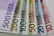 Euro Fächer Euroscheine