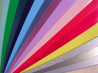 Venetian blinds color chart