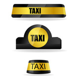Fototapety taxi tags
