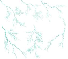 seven blue lightnings