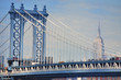 Manhattan Bridge & Empire State Building