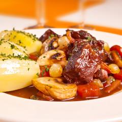 Estouffade de bœuf bourguignonne 2