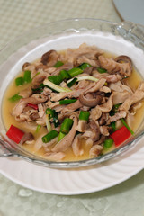 Chinese Hunan cuisine