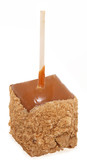 Apple Pie Candied Apple Square