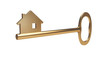 Golden House Key - Mortgage symbol