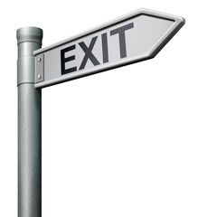 exit way out