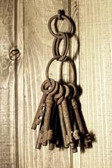bunch of old keys