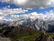 Italy beauty, Dolomites, Marmolada view from Sella