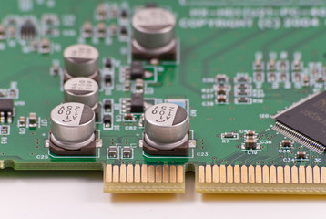 25 Volt Components on Circuit Board