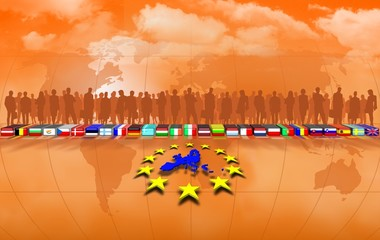 European Union background