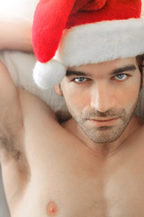 Sexy Santa man