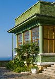 Summer cottage of Stalin in Abkhazia poster