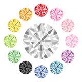 Fototapety カラー ダイヤモンド