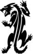 Трафарет для био тату и блесктату самоклеющийся, трехслойный (подложка, клеевой трафарет...