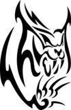Lynx.Tribal Predators. poster