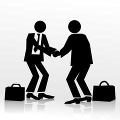 shake shake hands
