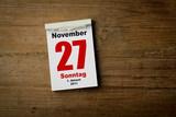 27 November poster