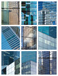 Reflets  et façades modernes