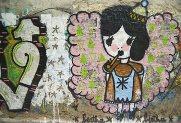 Doll Child Graffiti