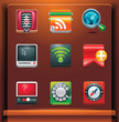 Communication. Mobile devices apps/services icons. Part 3 of 12