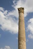 Ruins of Olympian Zeus Temple, corinthian column - Athens poster