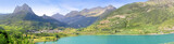 Sallent de Gallego panoramic Lanuza lake Pyrenees