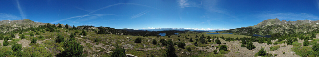 panorama Les angles lacs