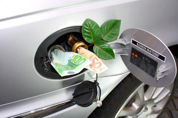 Super Benzin im Vergleich zu Autogas