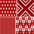 seamless patterns with fabric texture, christmas texture