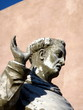 Sant'Alberto da Erice - Statua di frate