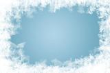 natürlich gewachsene Eiskristalle
