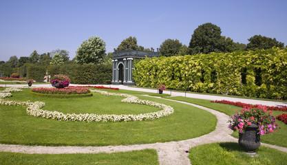 Vienna - garden of Schonbrunn palace